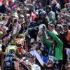 ツール・ド・フランス衝撃!優勝候補が自転車ナシで走る!